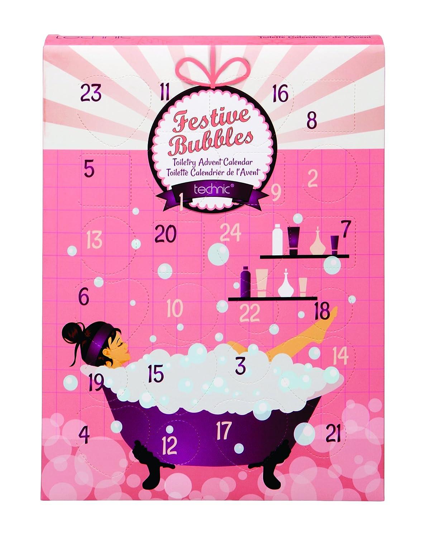 Technic Festive Bubbles Toiletry Advent Calendar Bath and Body Sets Badgequo 997259