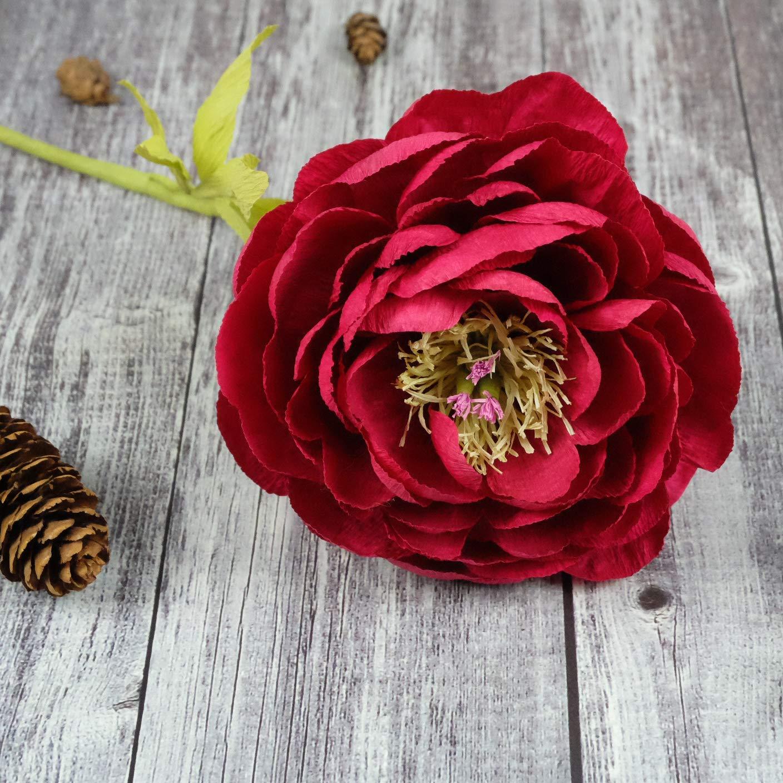 Amazon Paper Flowers Kit Unique Birthday Thanksgiving Christmas
