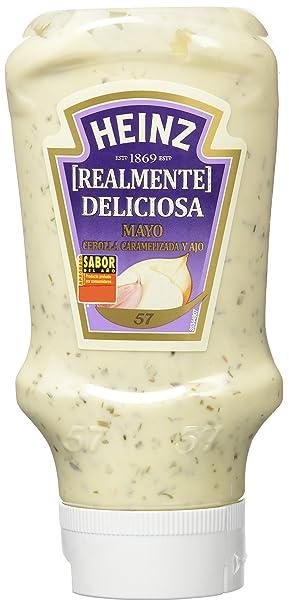 Heinz - Mayonesa Cebolla Caramelizada, 395 ml, pack de 6