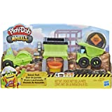 Amazon Com Play Doh Trash Tossin Rowdy The Garbage Truck