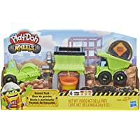 Play Doh Juguete de Construcción Grava y Pavimento Wheels