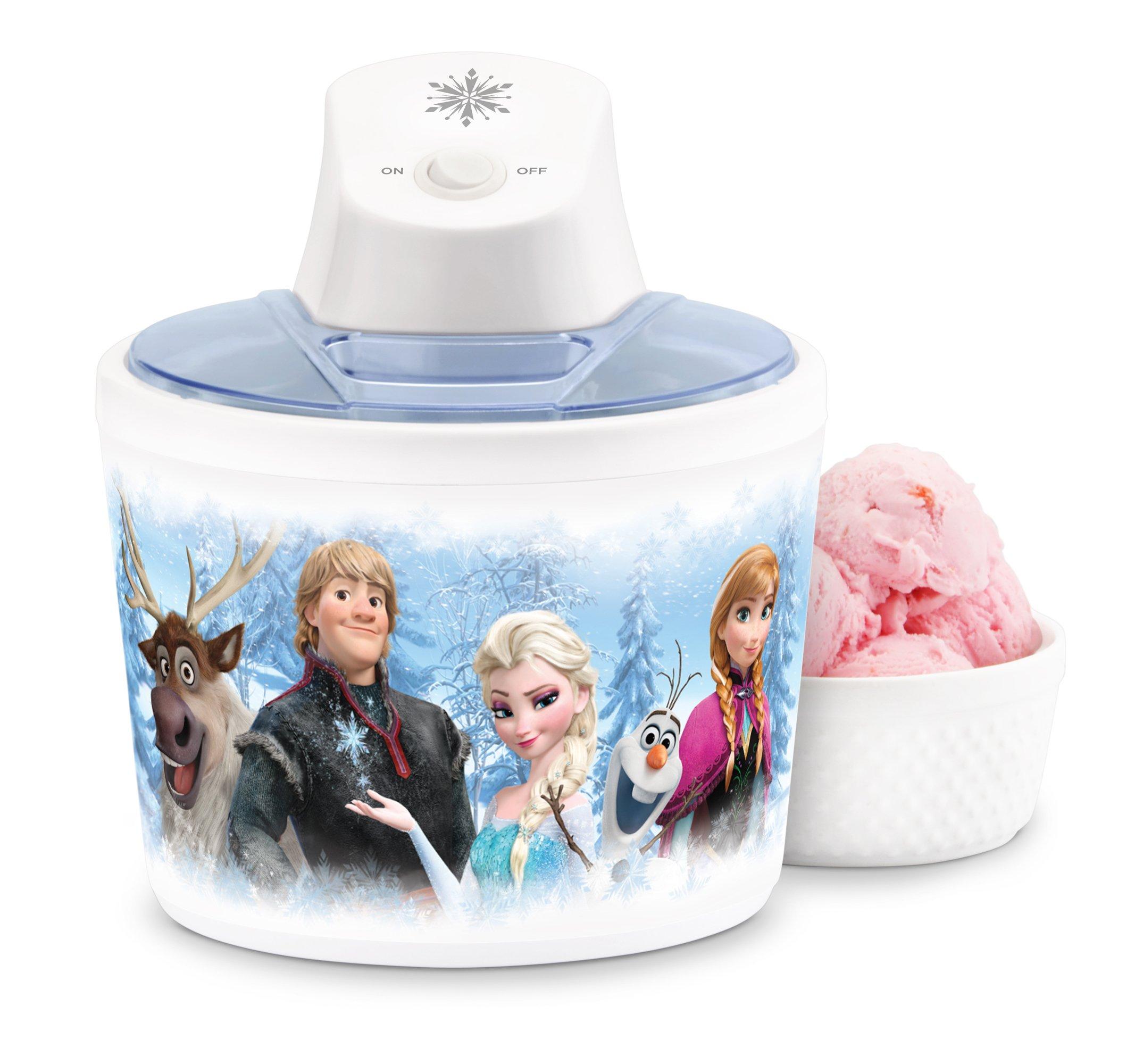 Disney DFR-14 Frozen Ice Cream Maker, White
