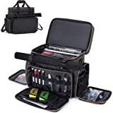 Trunab Tabletop RPG Adventurer's Travel Bag Compatible with Dungeons and Dragons Large DND Bag with Miniatures' Foam Layer, 2