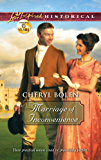 Marriage of Inconvenience (Love Inspired Historical)