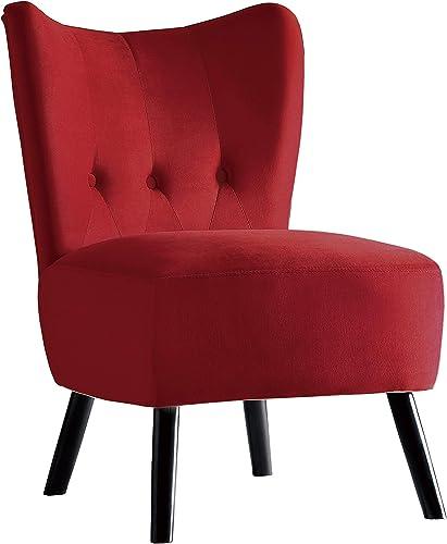 Cheap Homelegance Imani Velvet Accent Chair living room chair for sale