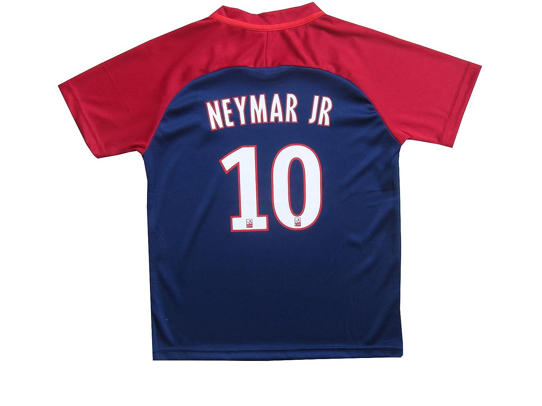 Psg black and pink jersey - Amazon Com 2017 2018 Paris Saint Germain Psg 10 Neymar Jr Home Soccer Jersey Shorts Youth Sizes Sports Outdoors