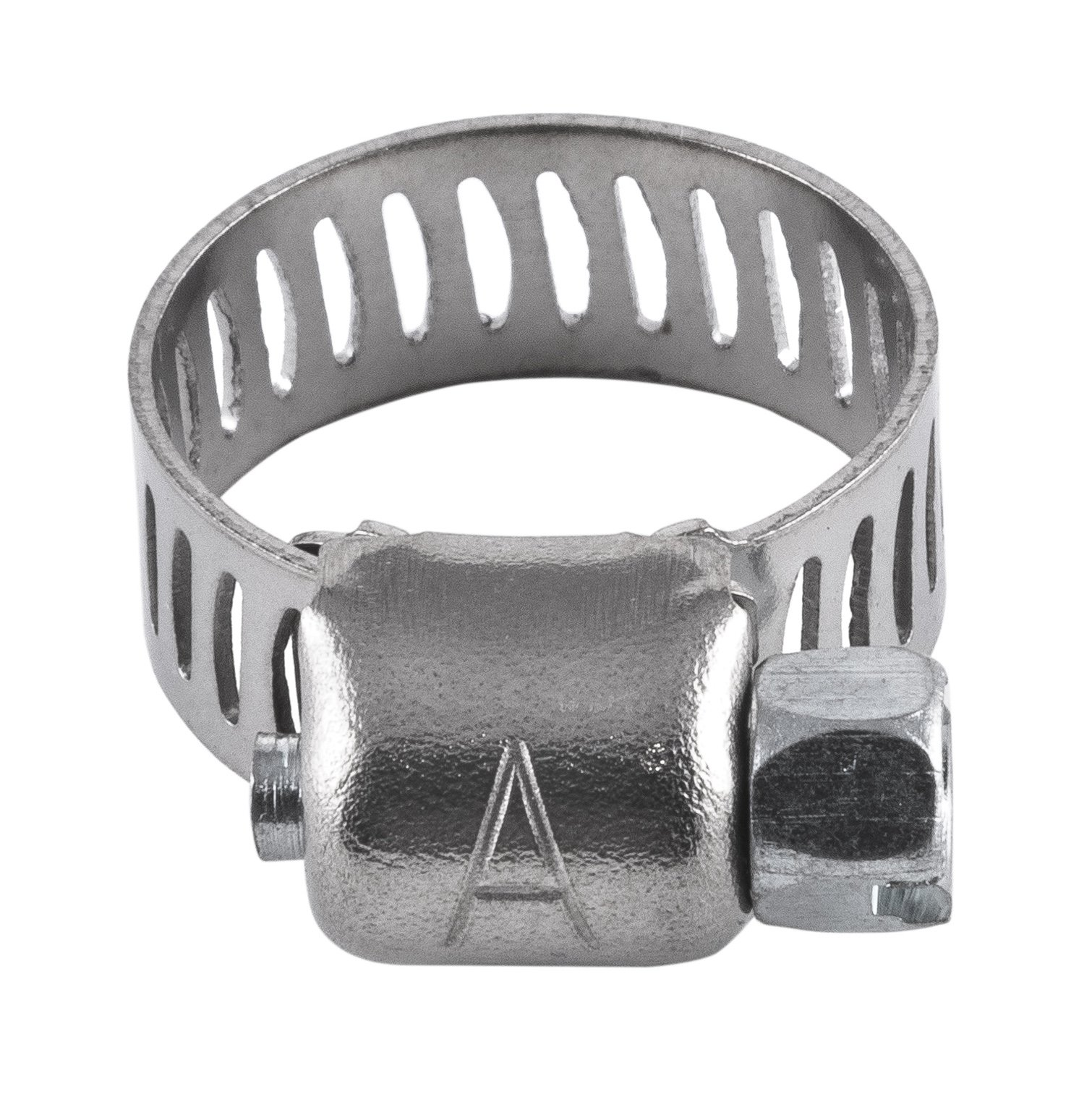 American Valve 10-Pack Worm Gear Hose Clamp, 1/4'' to 5/8'' (SAE size 4), CL4PK10, Stainless Steel Band & Housing