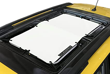 Provides UV Protection for Passengers with MySky Alien Sunshade for Jeep Renegade White