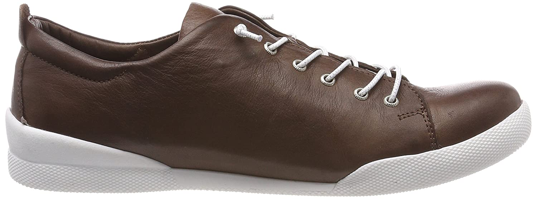 Andrea Braun Conti Damen 0345724 Sneaker Braun Andrea (Dunkelbraun) 61e01b