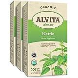 Alvita Organic Nettle Herbal Tea - Made with Premium Quality Organic Nettle Leaves, And Refreshing Grassy Flavor, 72 Tea Bags