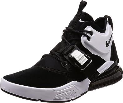 mejor proveedor venta más barata comprar lo mejor Nike Air Force 270 - Zapatos para hombre, Negro/Blanco, 11.5 D(M ...