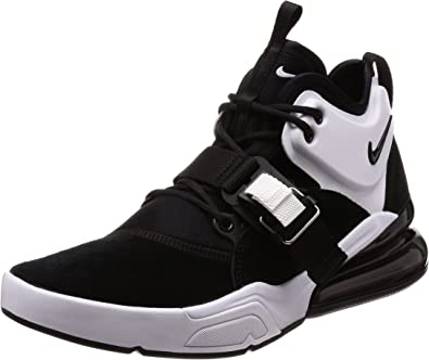 Nike NIKEAH6772 006 Uomo Air Force 270 NeroBianco Ah6772