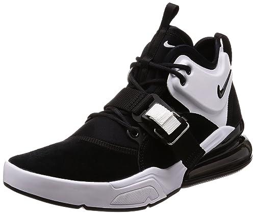 best website 06b63 9d264 Nike Air Force 270 - Zapatos para Hombre, NegroBlanco, 9 D(