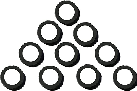 Feed Tires --  Compatible With Riso Part# 011-11821 Black