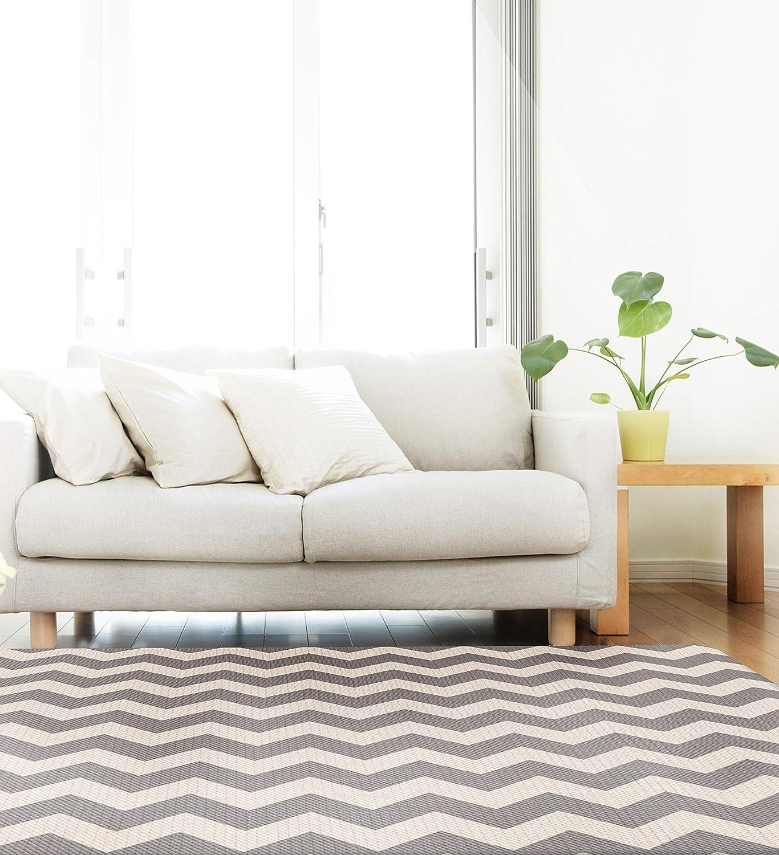 Urban Zig Zag Design Cushion Mat (Large) by Parklon   B01H3XLOCE