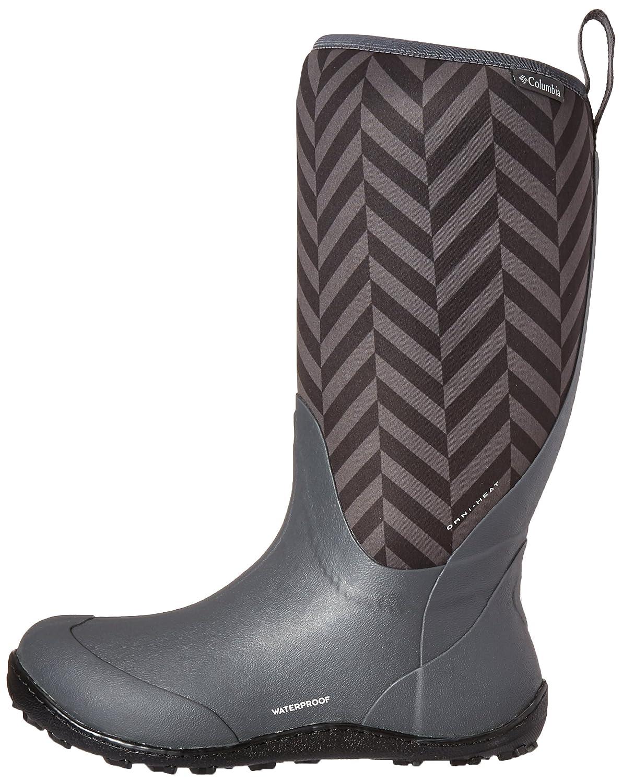 Columbia Women's Snowpow Tall B0183QD1LM Print Omni-Heat Snow Boot B0183QD1LM Tall 6 B(M) US|Dark Grey/Cool Grey a3b121