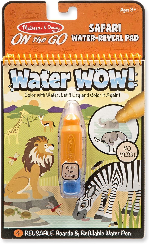 Melissa & Doug On the Go Water Wow! Reusable Water-Reveal Activity Pad - Safari