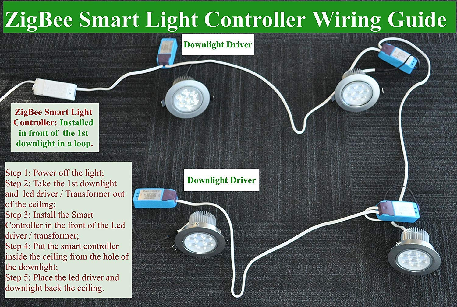 Wondrous Smart Zigbee Licht Dimmer Fur Echo Plus Zigbee Bridge Smartthings Wiring Digital Resources Zidurslowmaporg