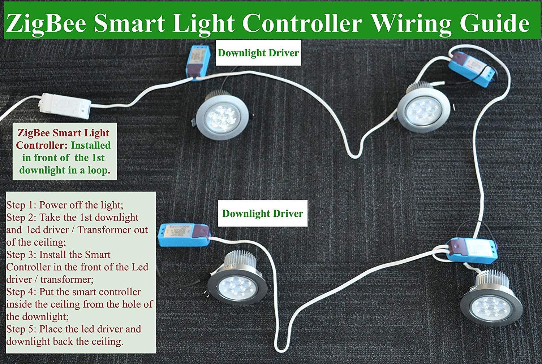 Phenomenal Smart Zigbee Licht Dimmer Fur Echo Plus Zigbee Bridge Smartthings Wiring 101 Mecadwellnesstrialsorg