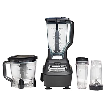 amazon com nutri ninja blender food processor with 1500 watt auto rh amazon com Ninja Blender Food Processor Attachment Ninja Kitchen System 1100 Recipes