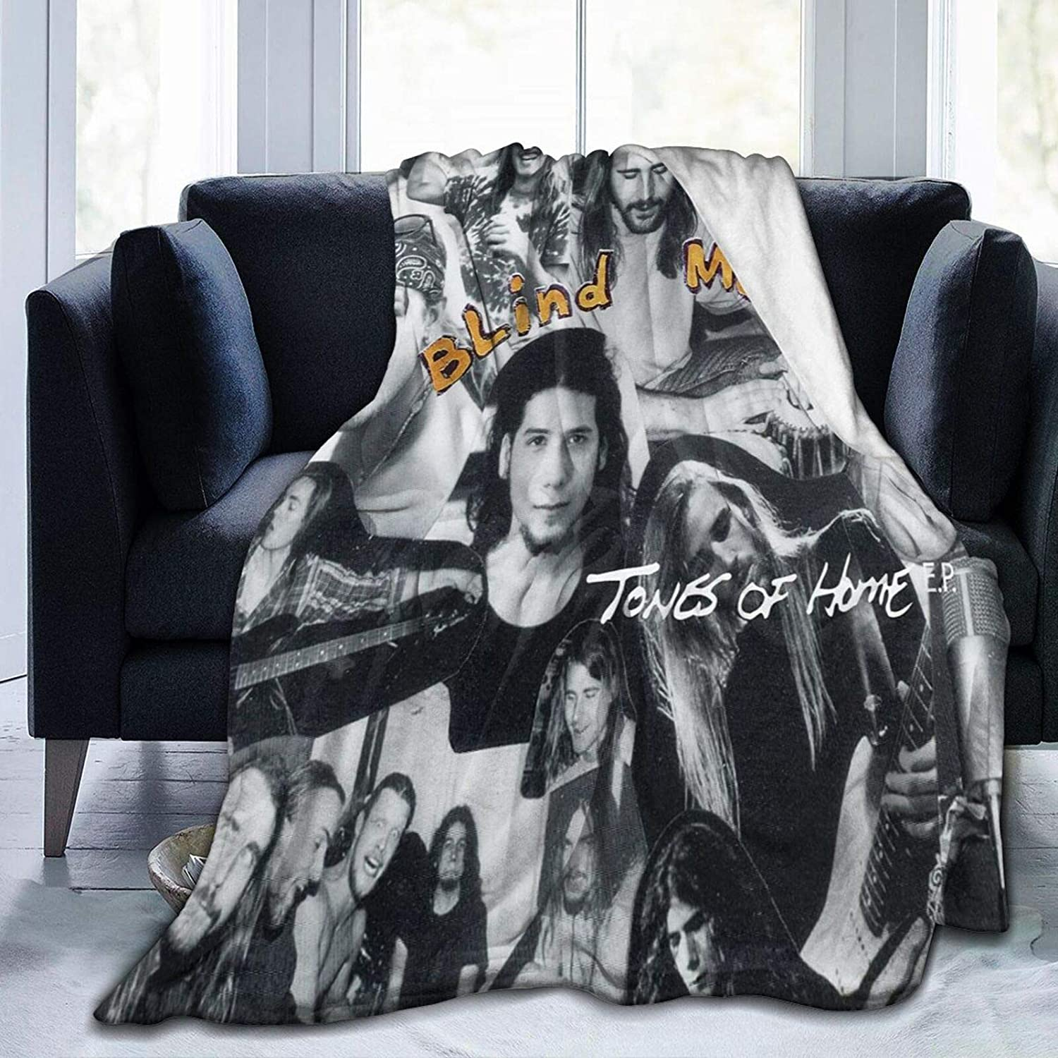 Blind Melon Tones of Home Ep Four Seasons Nap Warm Blankets,Fluffy Bed Blankets for Sofas,Lightweight Wool Blankets Novelty Blankets,Flannel Blankets,Comfortable Throwing Blankets