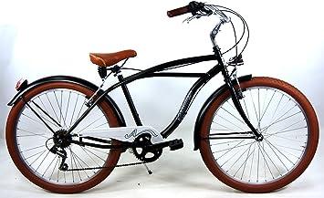 "Adriatica Bicicleta "" Cruiser Cambio 6 V – Bastidor de acero ..."