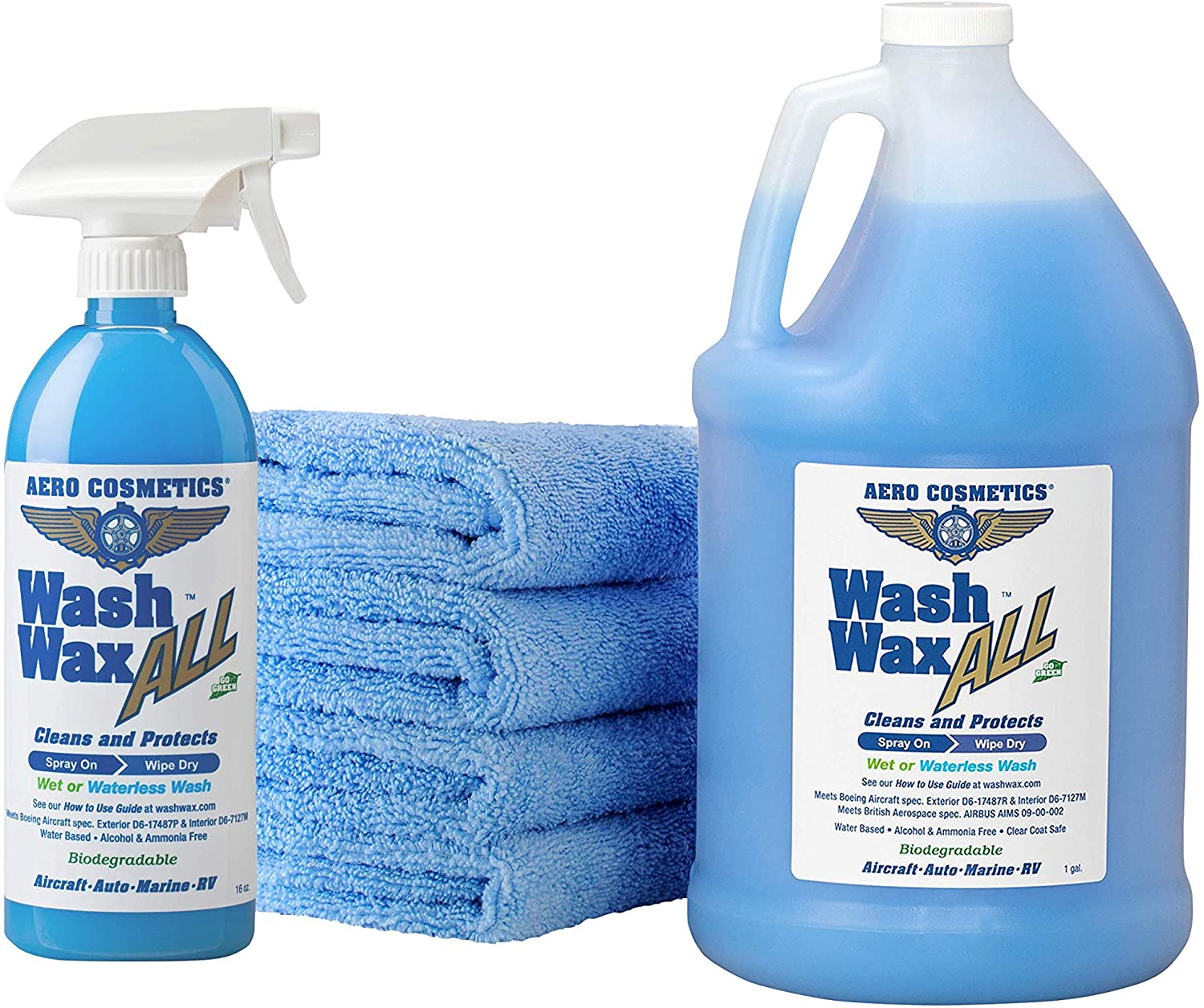Aero Cosmetics Car Wash Wax Kit