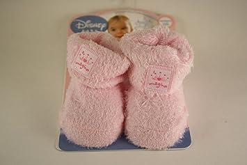 Amazon.com: Disney rosa bebé Bootie zapatos: Baby
