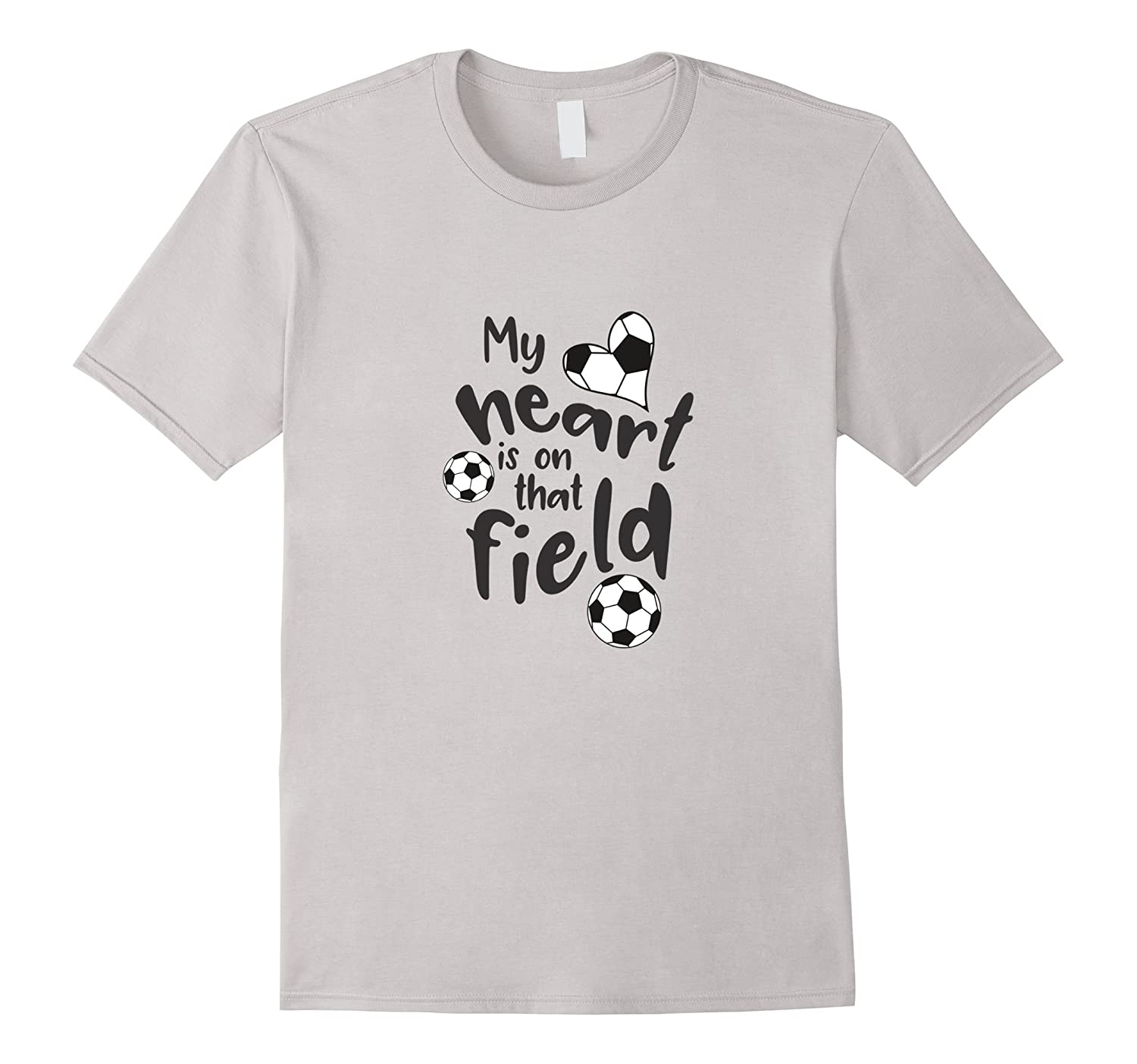 Cute Soccer T-Shirt for Moms and Dads of Soccer Players.-Protee