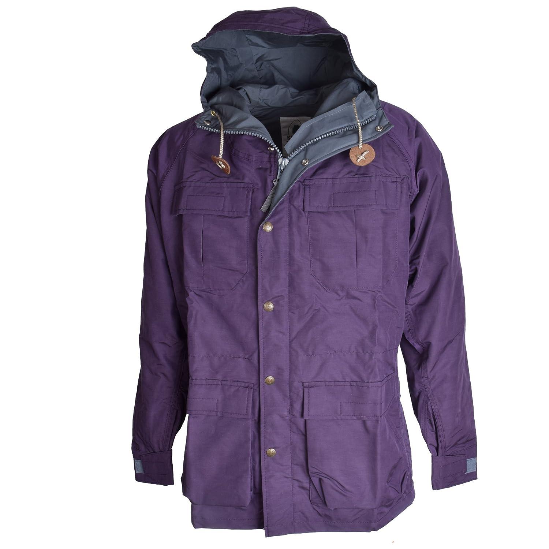 SIERRA DESIGNS (シエラデザインズ) 50th Anniversary MOUNTAIN PARKA 5972 B079FX3JGX M Purple/Gray Purple/Gray M