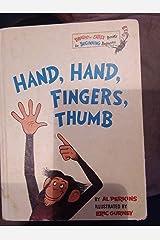Hand Hand Fingers Thumb[HAND HAND FINGERS THUMB][Hardcover] Hardcover