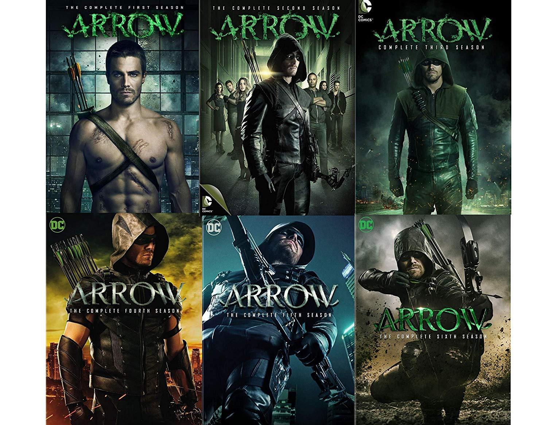 Arrow: Complete Series Seasons 1-6 DVD
