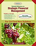 Padhukas Students Referencer On Strategic Financial Management (CA Final- New SYL): CA final New Syllabus- for May 2019 Exams