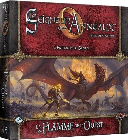 Asmodee Señor de los Anillos: Juego de Cartas, La Llama del Oeste, UBIJCS54: Amazon.es: Juguetes y juegos