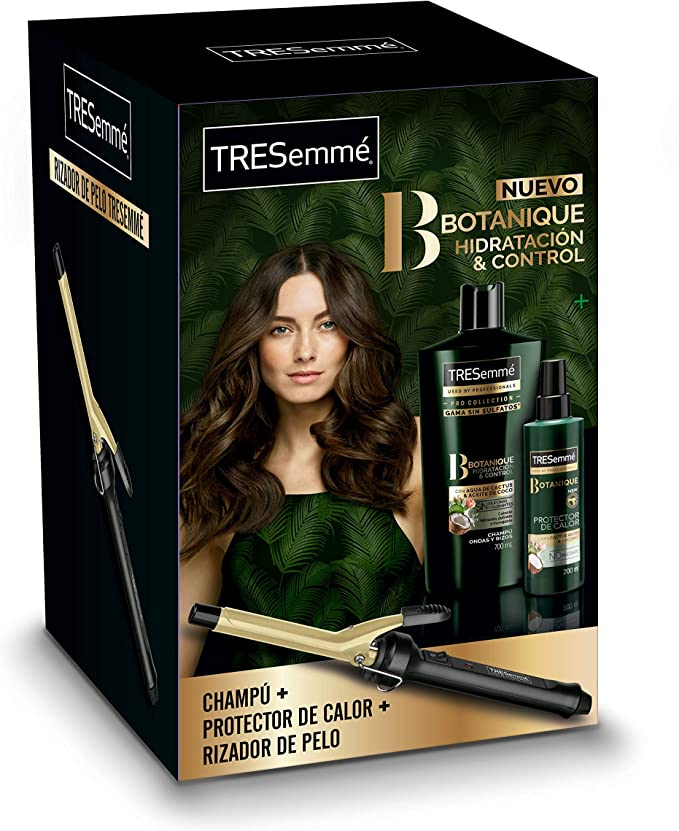 TRESemmé Botanique Pack Champú + Protector y Rizador de Cabello: Amazon.es: Belleza