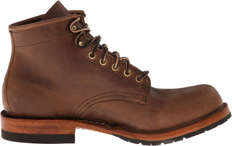 """Distressed Half lug 5/"""" White/'s Boots Hathorn Traveler"""