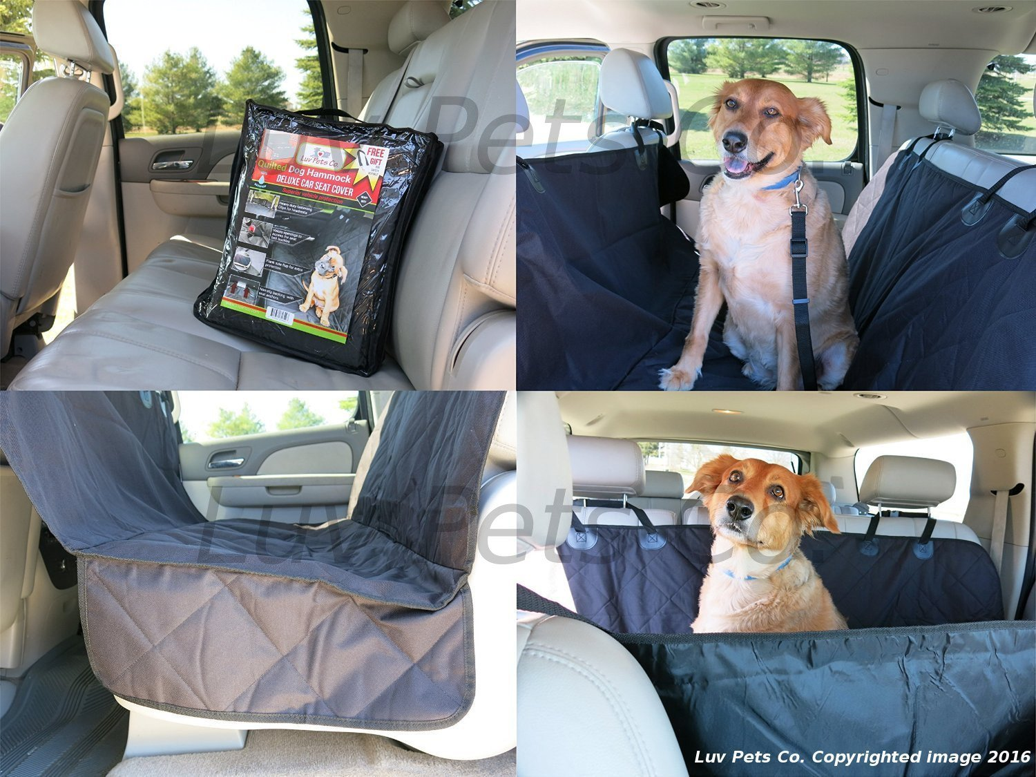 proof car cover backseat pet waterproof universal products dog image seat covers hammock product slip