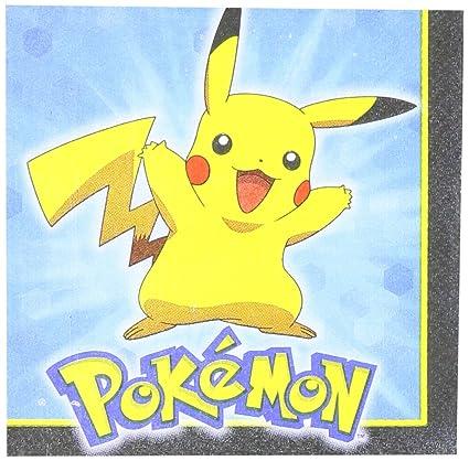 Amazon.com: electrifyingly lindo Pikachu & Friends Vajilla ...