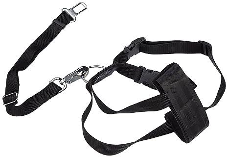 TRIXIE Arnés con cinturón de Seguridad, M, 50-70 cm: Amazon.es ...