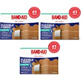 Band-Aid. Brand Flexible Fabric Adhesive Bandages, Assorted Sizes, 3-Pack (300 Count)