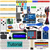 Freenove RFID Starter Kit V2.0 with UNO R3 Board (Compatible with Arduino IDE), 252 Pages Detailed Tutorial, 198 Items, 49 Projects, Solderless Breadboard