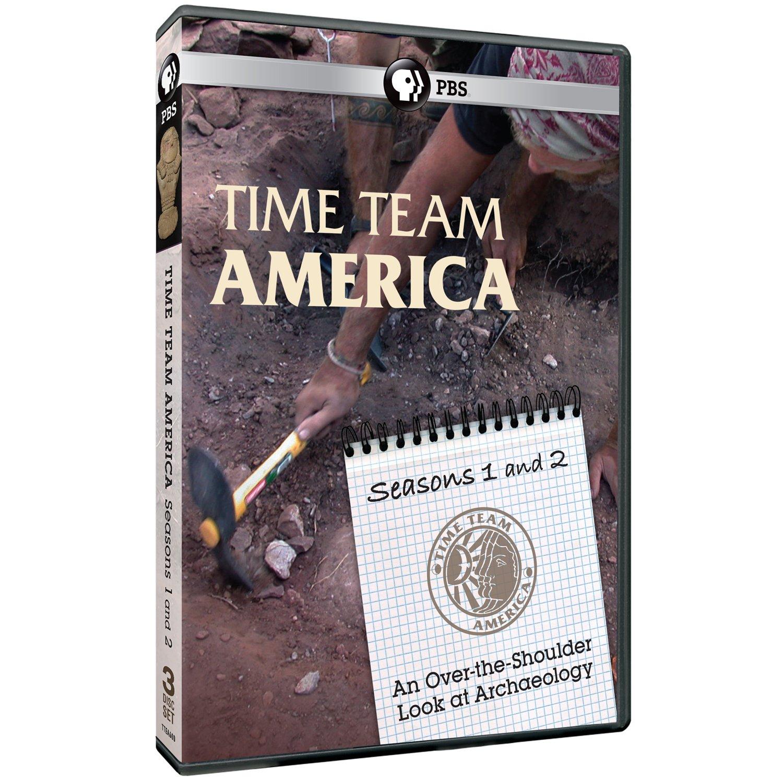 DVD : Time Team America: Seasons 1 & 2 (3 Pack, 3PC)