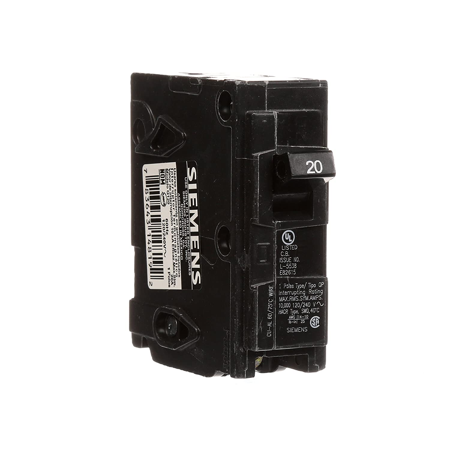 Q115 15 Amp Single Pole Type Qp Circuit Breaker In Case Of Burning On The Main Board Check That Problem