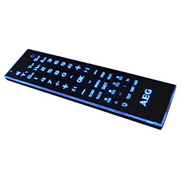 AEG 6 In 1 Universal Fernbedienung RC 4001 Mit 47 Touchscreen Tasten UVP