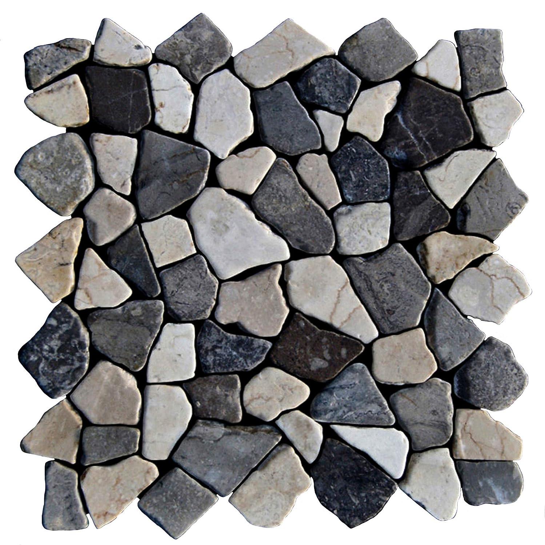 Naturstein Fliesen Lager Stein-mosaik NRW Marmor Bruch 1 Mosaikfliese M-013