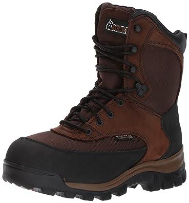 439918593 Rocky Core Waterproof 800G Insulated Outdoor Boot Dark Brown