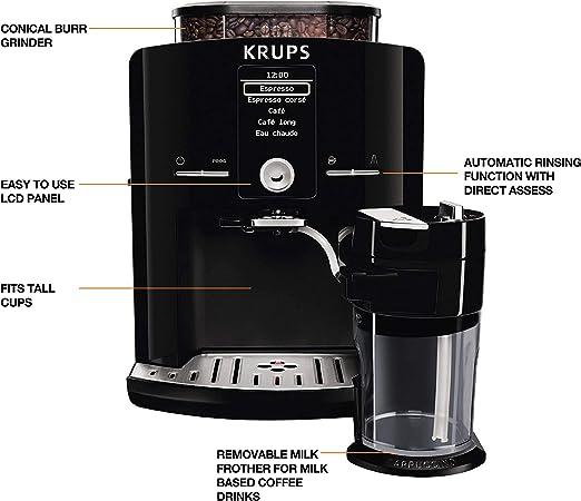 Krups Coffee Machine EA8298 | Black: Amazon.es: Informática