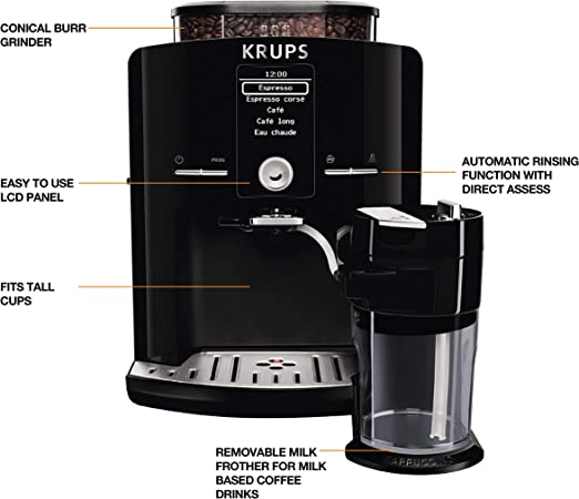 Amazon.com: KRUPS 8000033681 EA8250 - Cafetera espresso ...