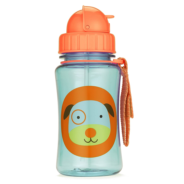 Skip Hop Zoo Trinkflasche für Kinder Trinklernflasche, Bär Blake, mehrfarbig Bär Blake Skip Hop (DE) 252347