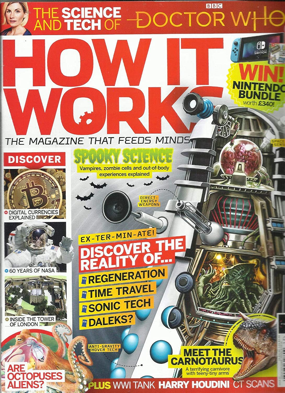 HOW IT WORKS MAGAZINE, THE SCIENCE AND TECH OF DOCTOR WHO ISSUE, 2018# 117